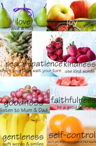 not physical fruit, but our actions that lead the hurting world to Jesus