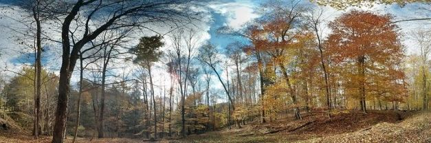 Panoramic shot taken by Grace Hejnal, October 27, 2013 in DuBois, PA