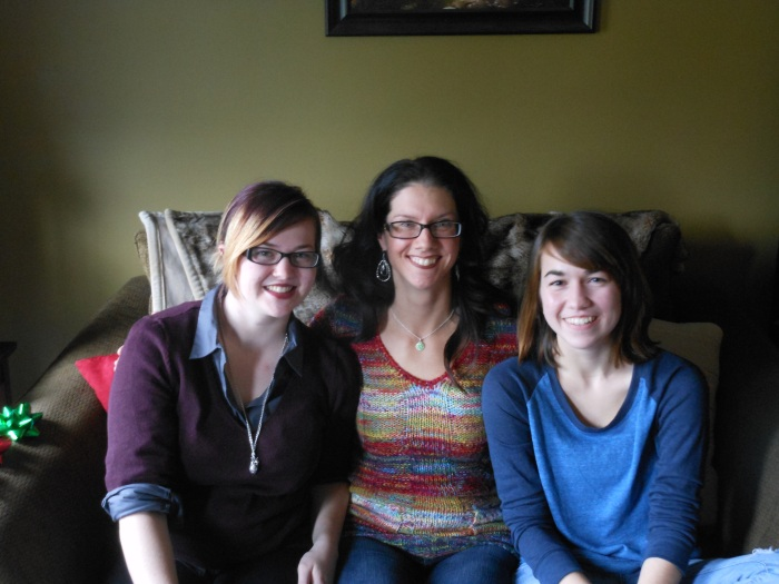 Two amazing young women who challenge me every day